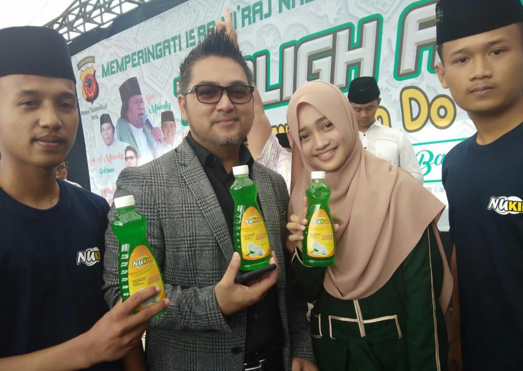 Sukses Sorban Nusantara, Ansor Kota Tasik Branding Produk NuKlin